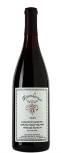 School House Vineyard Mescolanza Syrah Blend 2011 750ml